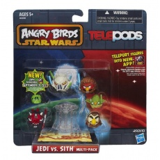 Angry Birds Star Wars Telepods Jedi vs. Sith Multi-Pack, Hasbro A6180 gry