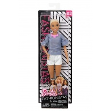 Barbie® Fashionistas™ Lalka 82 Chic in Chambray Original Mattel FBR37 FNJ40