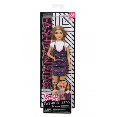 Barbie® Fashionistas™ Lalka 81 Wear Your Heart Petite Mattel FBR37 FJF46