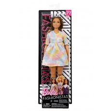 Barbie® Fashionistas™ Lalka 77 To Tie Dye For Curvy Mattel FBR37 FJF42