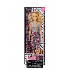 Barbie® Fashionistas™ Lalka 70 Pineapple Pop Original Mattel FBR37 FJF35