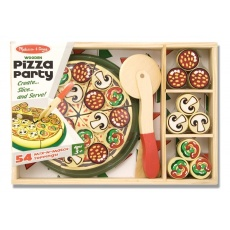 Drewniana pizza do krojenia, Melissa&Doug® 10167