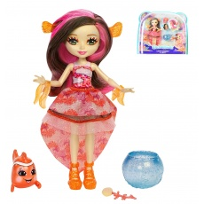 Enchantimals™ Morska lalka Clarita Clownfish i Cackle Mattel FKV54 FKV56