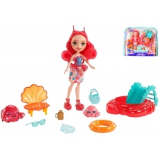 Enchantimals™ Morska lalka Cameo Crab z Chelą i Courtney Mattel FKV58 FKV60
