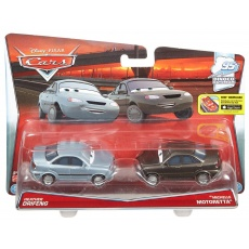 Heather Drifeng i Michelle Motorett Cars, Mattel Y0506 DHL18 Disney Auta