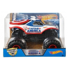 Hot Wheels® Monster Jam® Captain America Mattel CBY61 CHV12