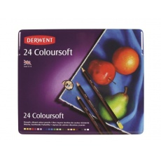 Kredki Coloursoft 24 kolory, Derwent 0701027
