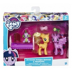 Kucyki Twilight Sparkle i Applejack My Little Pony, Hasbro B9160 B9850
