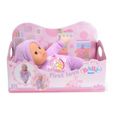 Lalka First Love violet My Little Baby Born, Zapf Creation 819869 821091 lalki
