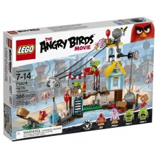 LEGO® Angry Birds™ 75824 Demolka w Pig City, klocki