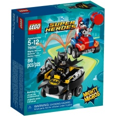 LEGO® DC Comics™ Super Heroes Mighty Micros 76092 Batman™ vs. Harley Quinn™