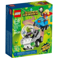 LEGO® DC Comics™ Super Heroes Mighty Micros 76094 Supergirl™ vs. Brainiac™