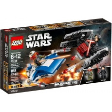 LEGO® Star Wars Microfighters 75196 A-Wing™ kontra TIE Silencer™