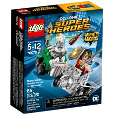 LEGO Super Heroes 76070 Wonder Woman kontra Doomsday, klocki
