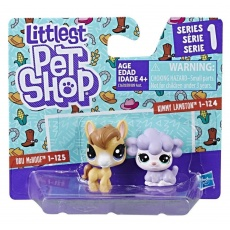 Littlest Pet Shop Mini zwierzaki 2 szt. S1, Hasbro B9389 C1678 LPS