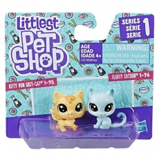 Littlest Pet Shop Mini zwierzaki 2 szt. S1, Hasbro B9389 C1677 LPS