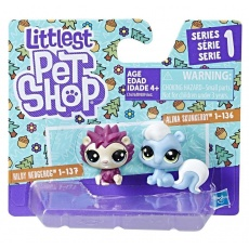 Littlest Pet Shop Mini zwierzaki 2 szt. S1, Hasbro B9389 C1676 LPS