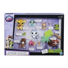 Littlest Pet Shop Zestaw 11 figurek, Hasbro B6625 B9753 LPS