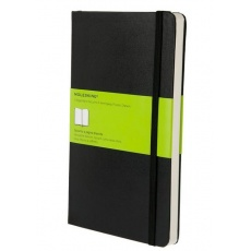 Moleskine Classic Notebook Notes gładki hard black L