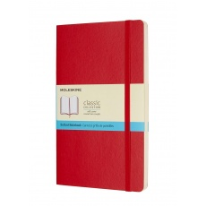 Moleskine Classic Notebook Notes w kropki soft red L, MOQP619F2 notesy