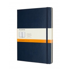 Moleskine Classic Notes w linie notebook hard sapphire blue XL, MOQP090B20