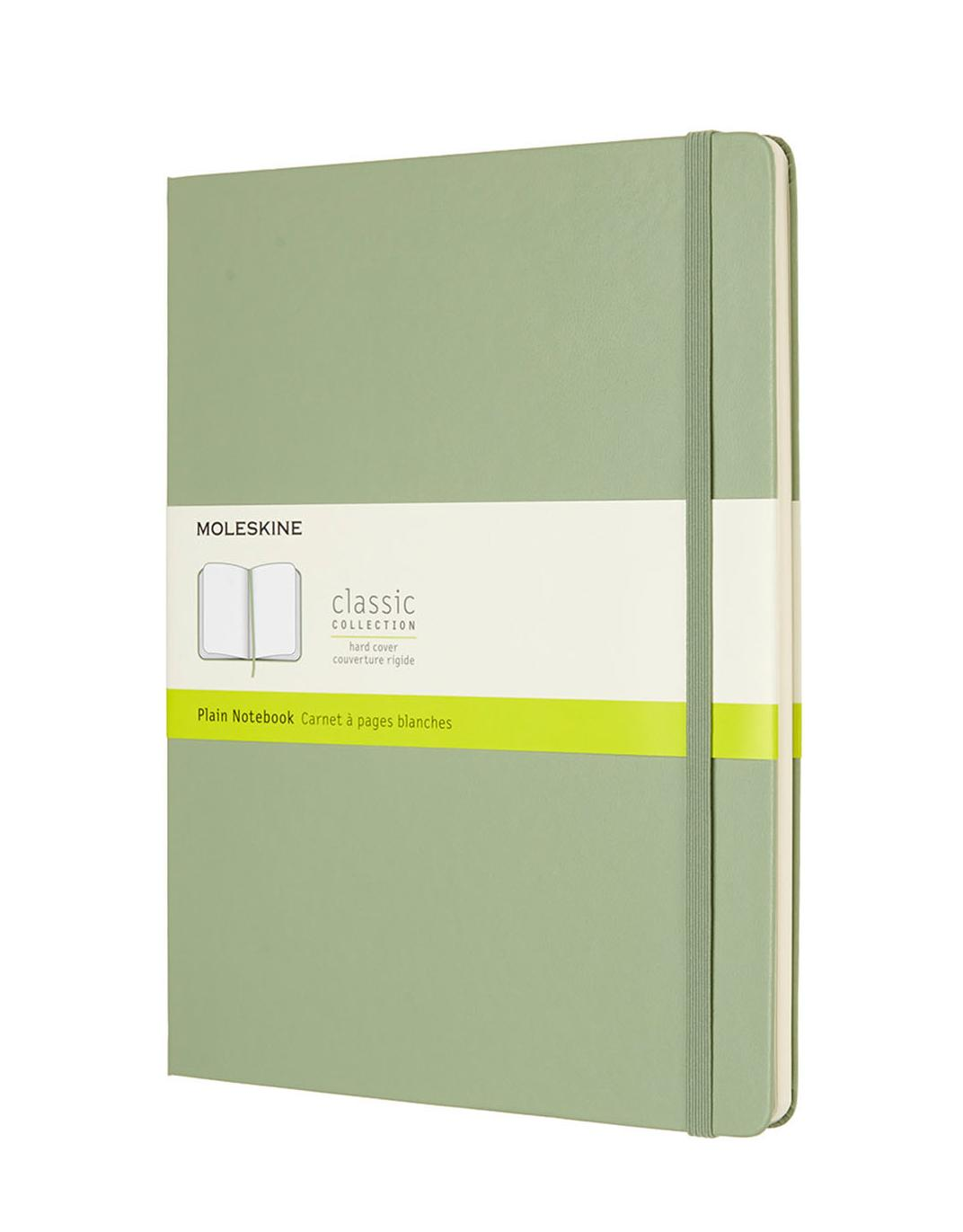 Moleskine Classic Notes gładki notebook hard pistacjowy XL P092K12
