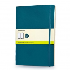 Moleskine Classic Notes w linie notebook soft morski XL P621B6