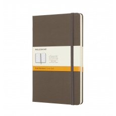 Moleskine® Classic Notes L w linie twarda oprawa earth brown QP060P14