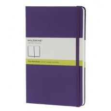 Moleskine Notebook notes gładki large hard brilliant violet