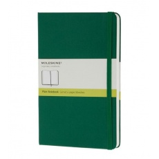 Moleskine Notebook notes gładki large hard oxide green