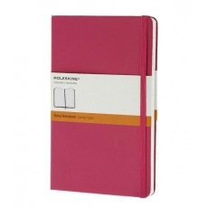 Moleskine Notebook notes w linie large hard magenta