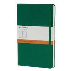 Moleskine Notebook notes w linie large hard oxide green