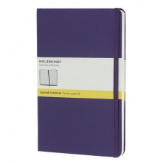 Moleskine Notebook notes w kratkę large hard brilliant violet