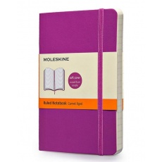 Moleskine Notebook notes w linie large soft orchid purple