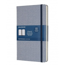 Moleskine Notebook Notes w linie Blend blue large, MOLCBD02QP060B notesy