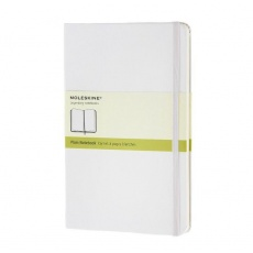 Moleskine Notes gładki notebook large hard white