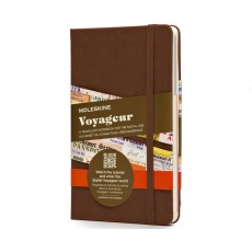 Moleskine Voyageur Traveller\'s Notebook brown, MOVN001P4F notesy