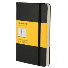 Moleskine Notes w kratkę notebook pocket hard MOMM712