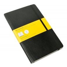 Moleskine Notes w kratkę notebook large soft