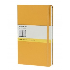 Moleskine Classic Notebook Notes w kratkę orange yellow hard L, MOQP061M2
