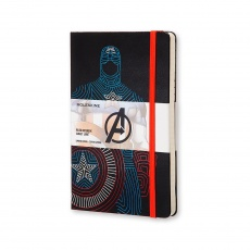 Moleskine Notes w linie hard L Limited Edition The Avengers Captain America