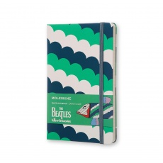 Moleskine Notes w linie hard L Limited Edition The Beatles Fish