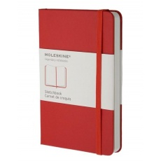 Moleskine Sketchbook szkicownik large red hard
