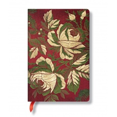 Paperblanks® Chic & Satin Notes w linie Dusk Rose Midi