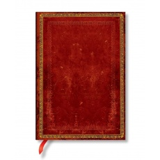 Notes w linie Venetian Red Midi, Paperblanks Old Leather Classics PB3521-3