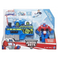 Optimus Prime Racing Transformers Rescue Bots Heroes, Hasbro B5584