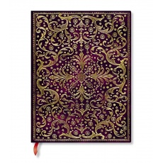 Paperblanks Aurelia Royal Purple Notes w linie ultra, notesy