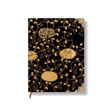 Paperblanks® Japanese Lacquer Boxes Karakusa Notes w linie ultra