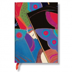 Paperblanks® Laurel Burch Midsummer Night's Dream Notes w linie midi
