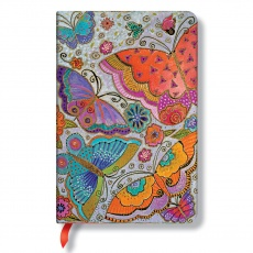 Paperblanks® Laurel Burch Flutterbyes Notes w linie mini